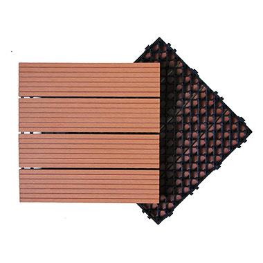 Sàn vỉ ngoài trời rỗng Ecowood 300*300*22mm