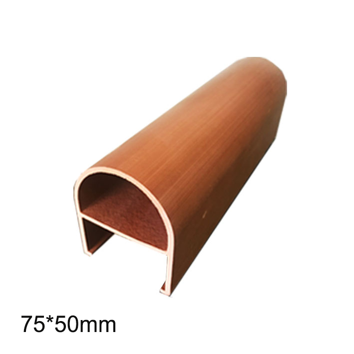 Trần Louver Ecowood 75*50mm