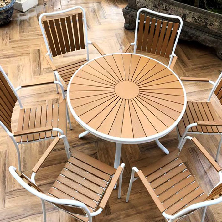 Bàn ghế ngoài trời Ecowood 1050*750mm
